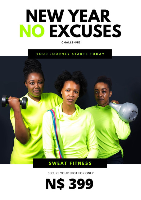 What you need to know about our New Year, No Excuses Challenge!