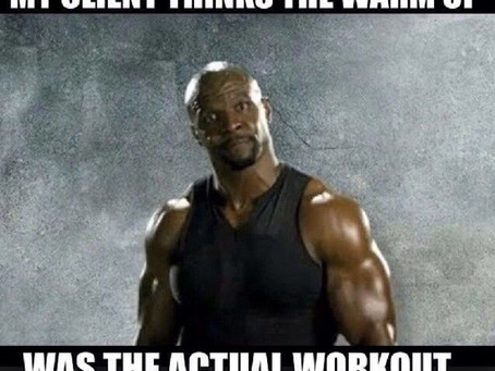 So, You Want a Personal Trainer
