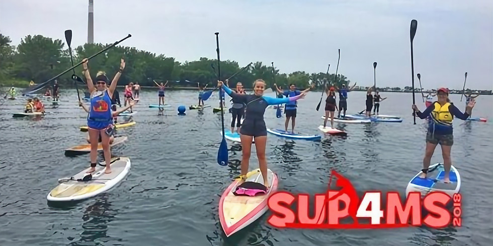 SUP Cheerleading for SUP4MS at SUPGIrlz!