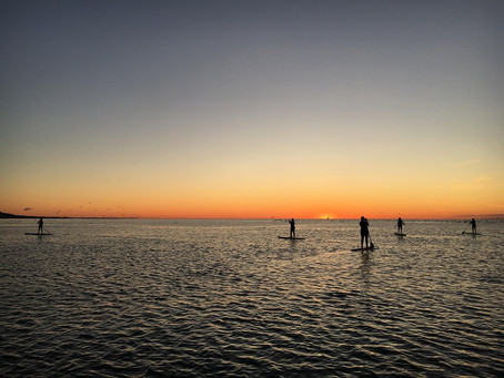 The Magic of SUPing at Sunrise
