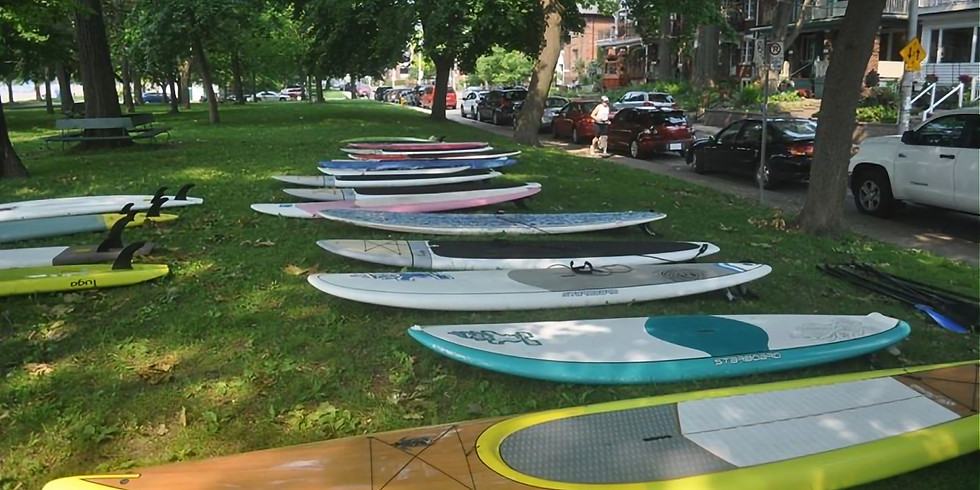 Opening Day BBQ & SUP Board Sale