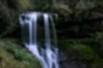 waterfall, nature, green, forest, mountains, adventure