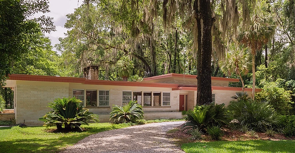 1960 - Rhines Residence, NW Gainesville,