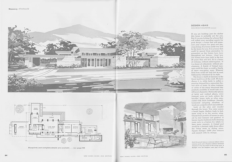 1962 SummerFall edition of the New Homes
