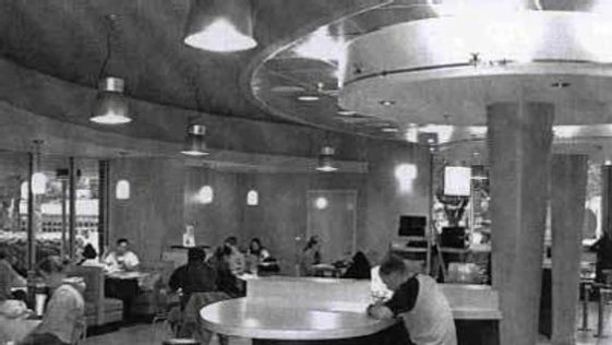 1950 - The Hub, with Architect Guy Fulto