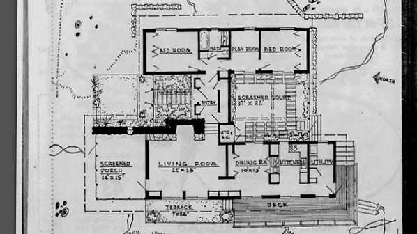1963 - Plans for Hunter Residence.webp