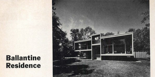 1969 - Ballantine Residence, Atlantic Be