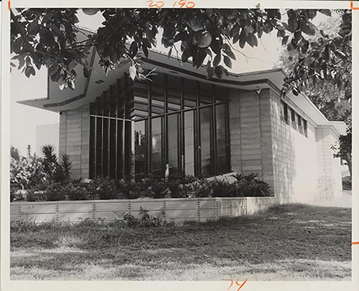 1955 - Danforth Chapel, with Architect F