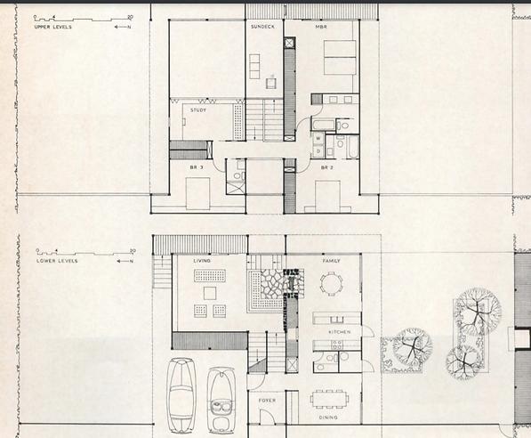 Floor Plan for Ballentine Residence, Atl