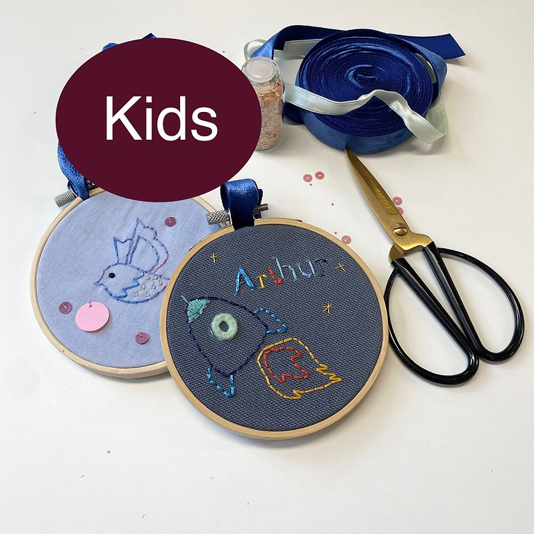 Atelier broderie enfant