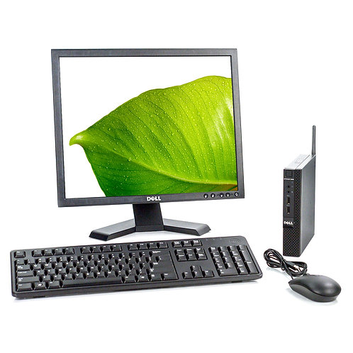 Dell Optiplex 9020 Micro Complete Home Office Setup | In-Store Pick Up