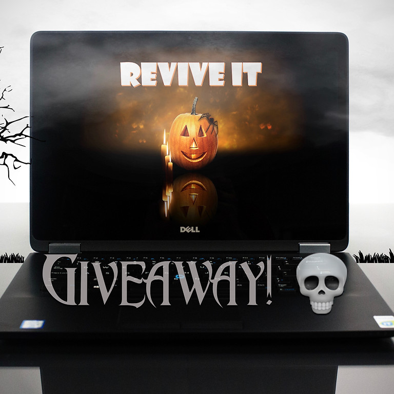 Dell Laptop Giveaway! | Halloween Party!
