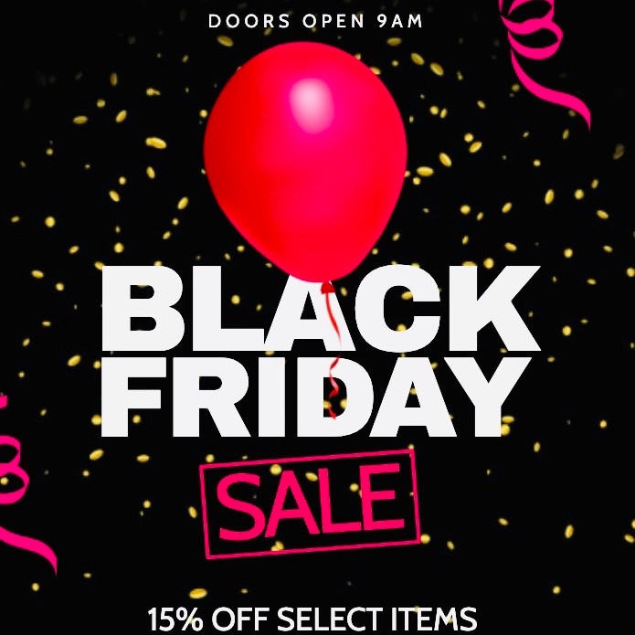 Black Friday Sale and Giveaways!