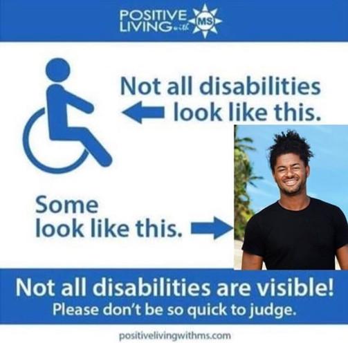 Handikappad