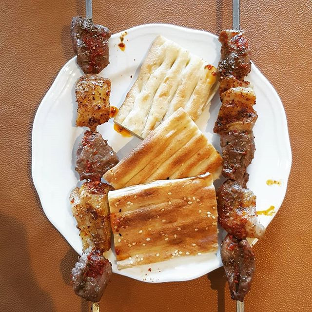 Uyghur Lamb Kebabs from Xinjiang, China