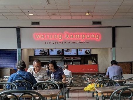 Cheering up a dreary food court with Indonesian Flavours