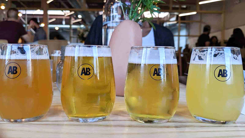 Sample Size Glasses at Avling Brewery