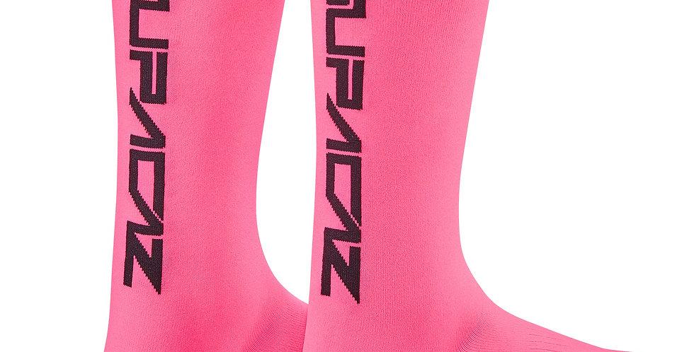 Neon Pink SupaSox Straight Up SL