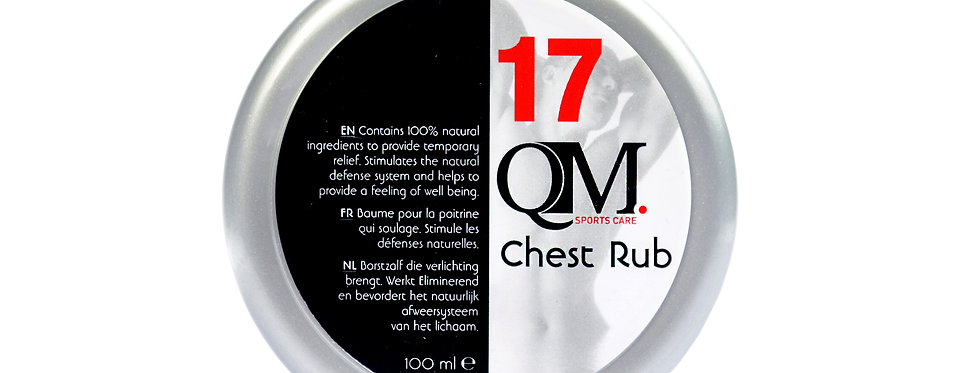 # 17 CHEST RUB 100ML