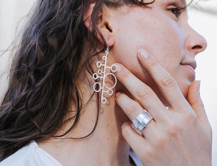Graceful Festive Droplets Earrings