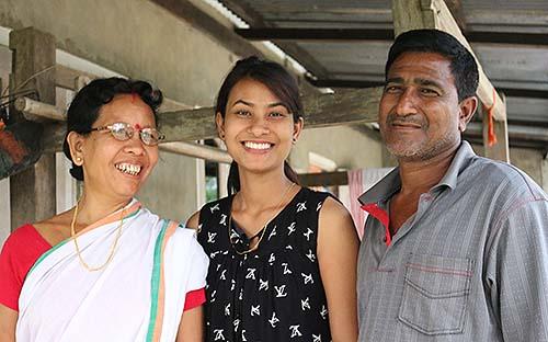 Eva, Sikha and Ajit