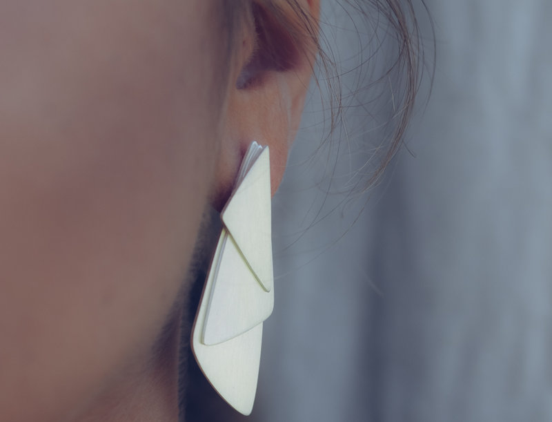 Fusion Layers Earrings