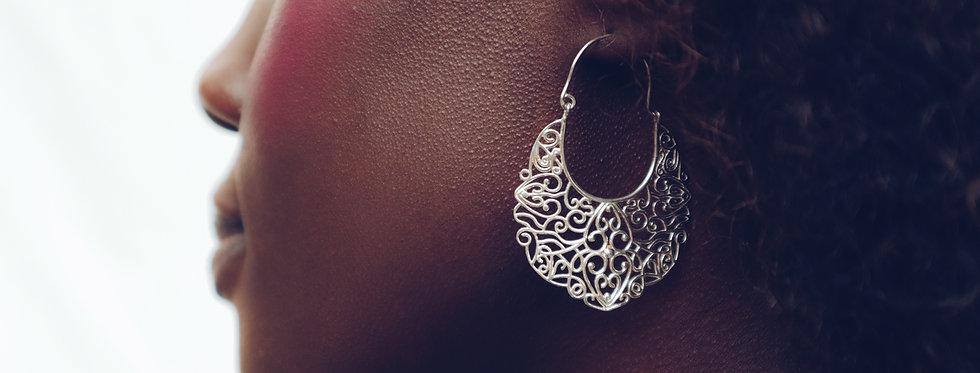 Artemis Evening Lace Earrings