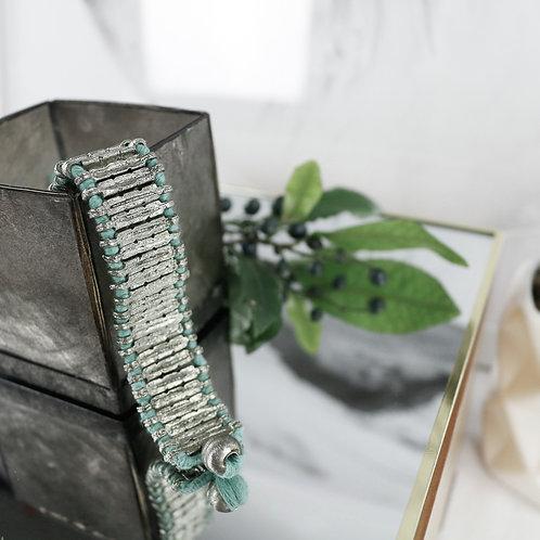 Silver Ribbon Bracelet - RRP $59.95