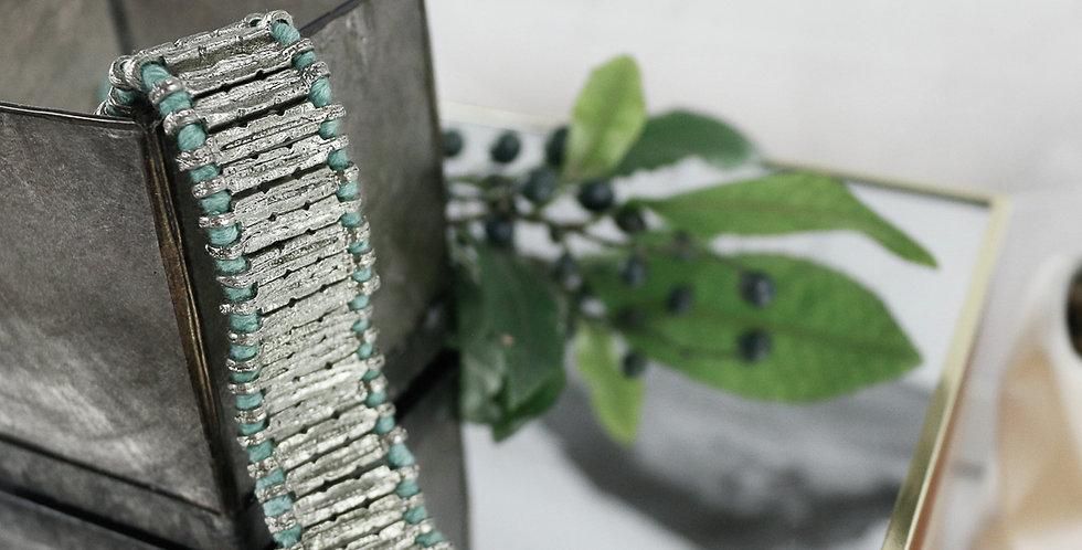 Silver Ribbon Bracelet