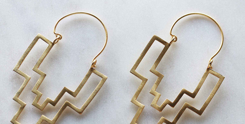 Fusion Geo Earrings