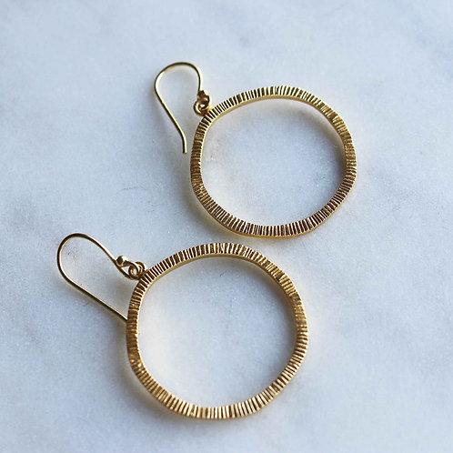 Spirited Sunny Hoop Earrings - RRP $59.95