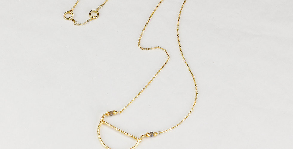 Spirited Crescent Dreams Necklace