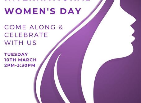 Join us for International Women's Day