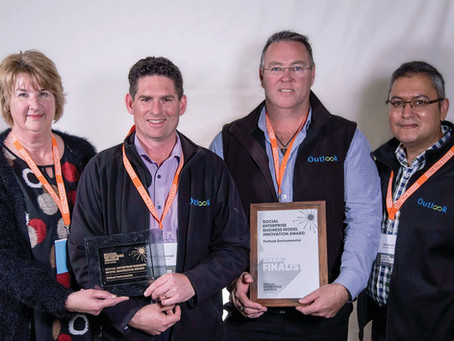 Outlook recognised with Social Traders Award