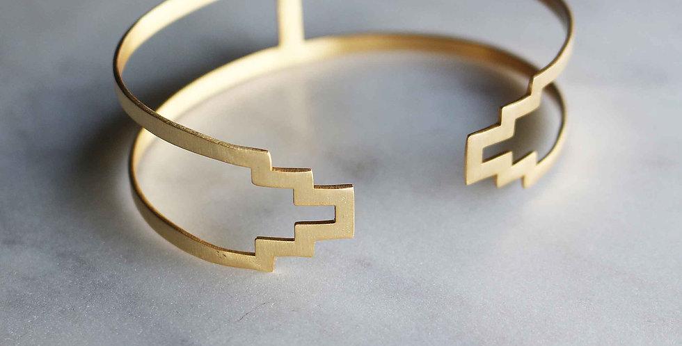 Fusion Profile Cuff Bracelet