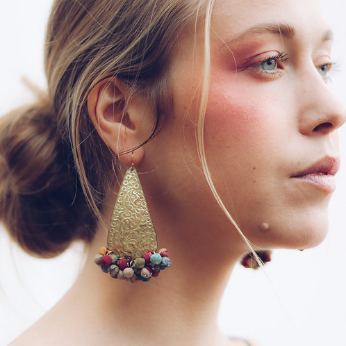 Upcycle Colour Feast Earrings - RRP $49.95