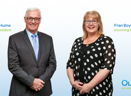 Election of Fran Boyd to President of Outlook (Vic) Inc. Board of Management