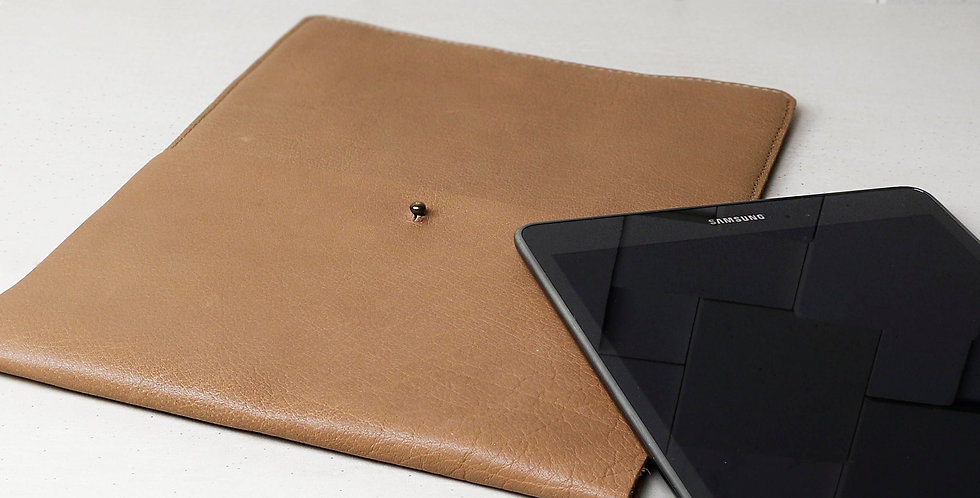 Stylish Leather Tablet & Document Sleeve