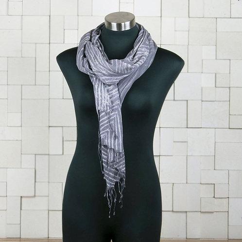Cotton Scarf - Zebra Print
