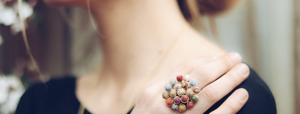 Upcycle Textile Ring