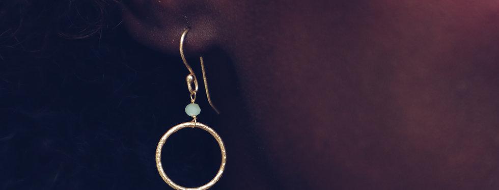 Spirited Chalcedony Earrings
