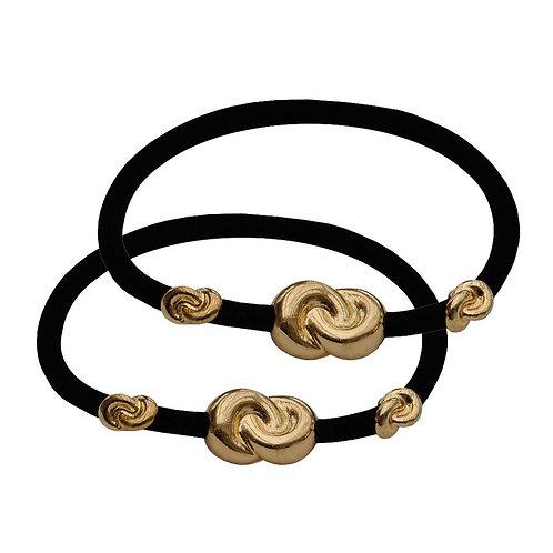 Hair Tie 3 Knots - 2 pack