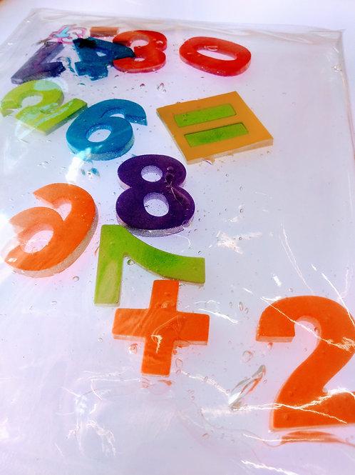 Almohadilla con Números 20x27