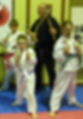 Karate School offers a weapons class
