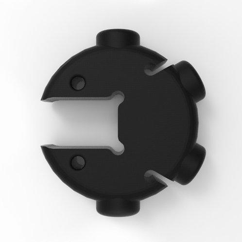 Connecteur 4x60°