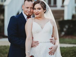 Real Wedding | Leslie & Adam at Highland Manor!