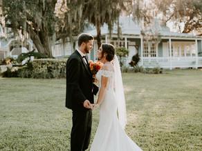 Orlando Real Wedding | Jade & Scotty at Highland Manor!