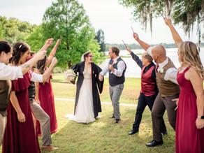 Orlando Real Wedding | Kelly & Chris at Lake Mary Event Center!