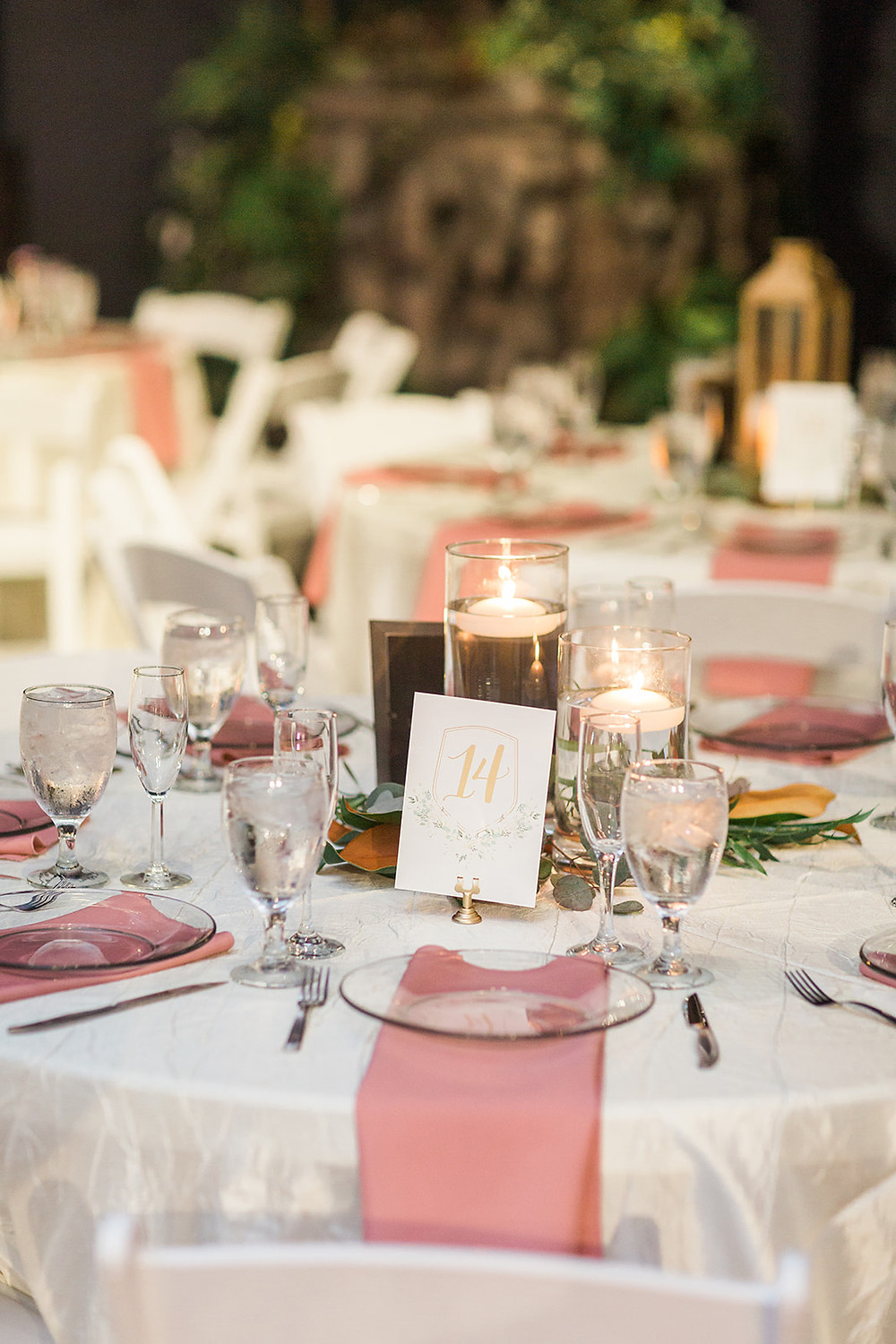 Table decor and custom table number