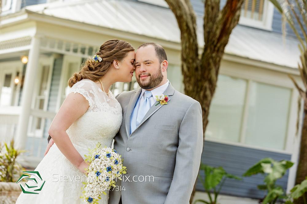 Bride and groom wedding Highland Manor